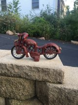 Super Cool Cast Iron Motorcycle in Oswego, Illinois