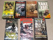 Group of Hunting VHS Tapes in Leesville, Louisiana