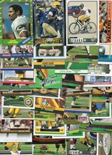100 Card Lot of GREEN BAY PACKERS Football Cards - 100 Different Players - No Duplicates 1986 - ... in Oswego, Illinois