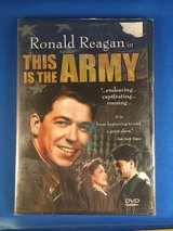 This is the Army (Ronald Reagan) - DVD in Travis AFB, California