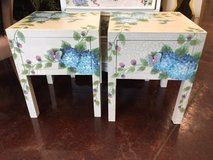 Beautiful kids bedroom set- end tables, dresser & mirror in Chicago, Illinois
