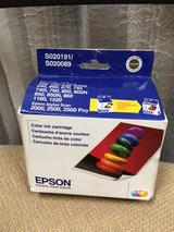 Epson color ink cartridge- S020191 / S020089 in St. Charles, Illinois