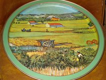 "metal tray-van gogh's""landscape w/veg. gardens"" in Bolingbrook, Illinois"