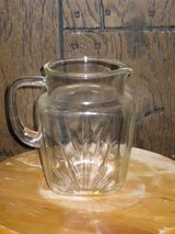 "7"" federal glass sunburst pitcher-1940s in Chicago, Illinois"