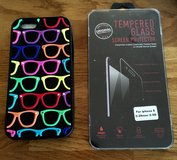 6 or 6S iPHONE SUNGLASSES CASE & 1 GLASS FACE PROTECTOR in Lakenheath, UK