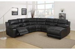 Johnny Sectional - Dark Brown-New Model -price includes delivery - monthly payments possible in Ansbach, Germany