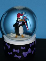 musical snow globe in St. Charles, Illinois
