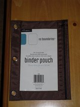 new binder pencil pouch in Naperville, Illinois