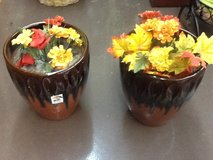 Garden Center Beautiful Decorative Plant Pot Set in Spring, Texas