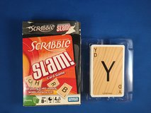 Scrabble Slam card game in Okinawa, Japan