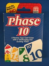 Phase 10 card game - Nearly New in Okinawa, Japan