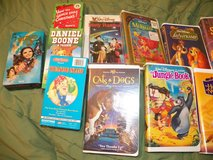 VHS Disney/Children's Tapes in Spring, Texas