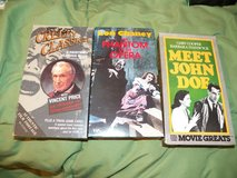3 Horror/Mystery VHS Tapes in Kingwood, Texas