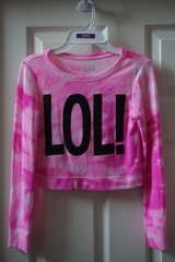 Girls Justice LOL! Cropped Sweater Size 7 in Plainfield, Illinois