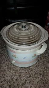 Floral 5 Qt. Crock Pot Slow Cooker in Fort Campbell, Kentucky