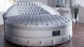 Dream Bed - For all who want something Special - 86 1/2 inch wide Round Bed in Grafenwoehr, GE