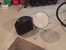 Snare Drum/Case in Great Condition - NEW PRICE in Naperville, Illinois