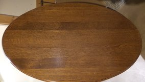 SOLID OAK COFFEE TABLE TOP OBLONG  NEEDS BASE in Aurora, Illinois