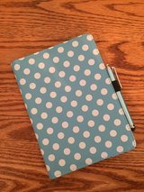 Blue Polka Dot Case for iPad Mini in Oswego, Illinois