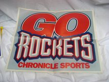 Collectible Houston Rockets NBA Newspaper Poster Publication 1995  Championship in Houston, Texas