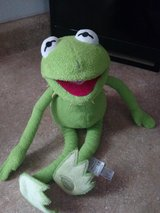 kermit the frog plush toy in Fort Bliss, Texas