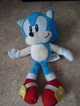 small plush toys mario bros,sonic,mine craft,sponge bob in Fort Bliss, Texas