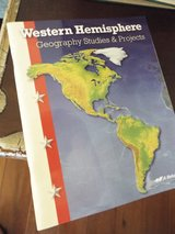 Homeschool! Abeka 8th Grd Western Hemisphere Geography Worktext ~ NEW! in Camp Lejeune, North Carolina