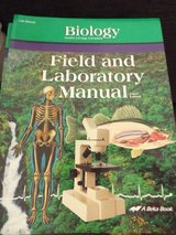 Homeschool! Abeka Biology Field & Lab Manual.. New! in Camp Lejeune, North Carolina