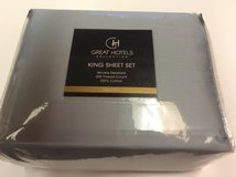 **BRAND NEW***Great Hotels Collection King Size Sheet Set*** in Kingwood, Texas
