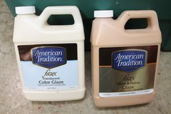 Pair of Unopened American Tradition Glazes -- Metal & Patina and Translucent in Joliet, Illinois