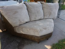 Couch ottoman and sectional piece in Fort Riley, Kansas