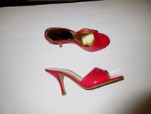 """NEW RED HOT RAMPAGE HEELS SIZE 8 M...4"""".VERY SEXY HEELS SLIP ON RED HOT in Bolingbrook, Illinois"""