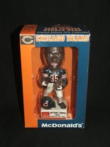 Chicago Bears McDonald's Anthony Thomas Rookie of The Year Bobblehead in Plainfield, Illinois