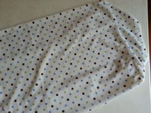 Carter's blue, green, and brown dots changing pad cover in St. Charles, Illinois