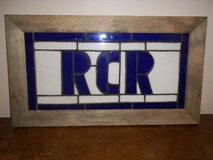 Framed Stained Glass Sign in Fort Campbell, Kentucky