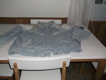 BLUE LIGHT WEIGHT JACKET SIZE LARGE in Alamogordo, New Mexico
