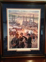 """Don Stivers Limited Edition Framed Signed and Numbered Civil War Print """"GATEWAY TO VICTORY"""" in Fort Leonard Wood, Missouri"""