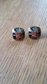 earrings colorful enamel accent in Alamogordo, New Mexico
