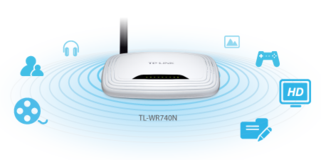 TP_LINK 150Mbps Wireless N Router TL-WR740N 4 Sale in Fort Bragg, North Carolina