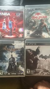 PS3 Game Bundle in Naperville, Illinois