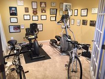 Elliptical and stationary bicycle in Quantico, Virginia