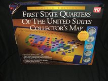 First State Quarters U.S Collector's Map Ltd Edition NEW in St. Charles, Illinois