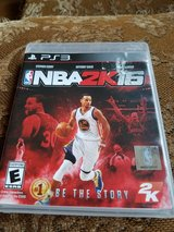 NBA 2k 16 ps3 in Bolingbrook, Illinois