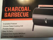 Portable Barrell Barbque Grill NEW in Oswego, Illinois
