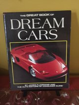 The Great Book of Dream Cars Hardcover in Yorkville, Illinois