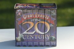 Great Events of the 20th Century VHS collection $5.00 Reduced! in Cherry Point, North Carolina