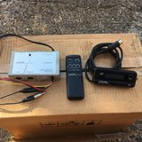 Alpine FM stereo modulator 1220 with display and remote. in Lakenheath, UK