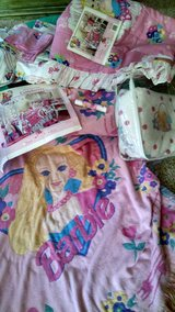 barbie bedding and misc. in Bolingbrook, Illinois
