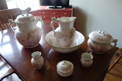 Antique 10 Piece Chamber Set in Bolingbrook, Illinois