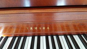 Yamaha Upright Piano and bench in Naperville, Illinois